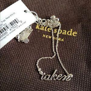 Kate Spade Taken Necklace